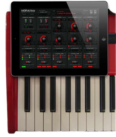 Live MIDI Routing for iPad and iPhone (iOS)